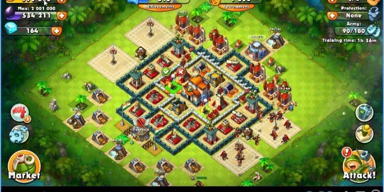 Jungle Heat : CC LEVEL 7 BASE