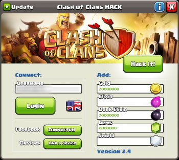 Clash-of-Clans-Hacks-app screenshot