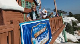 Frozen Games at Disney's Blizzard Beach liquid Park