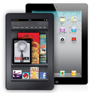 ipad 2 vs kindle fire