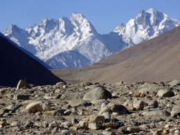 Mount Everest Himalayan vary from Tibet