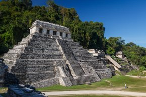 The Temple of Inscriptions at Palenque